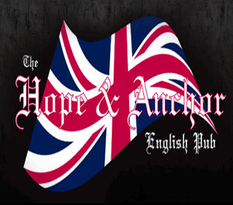The hope and anchor english pub