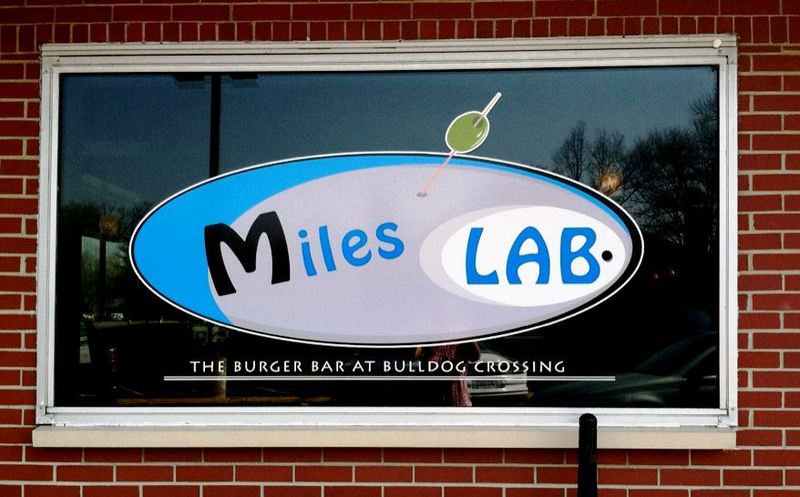 Miles lab burger bar