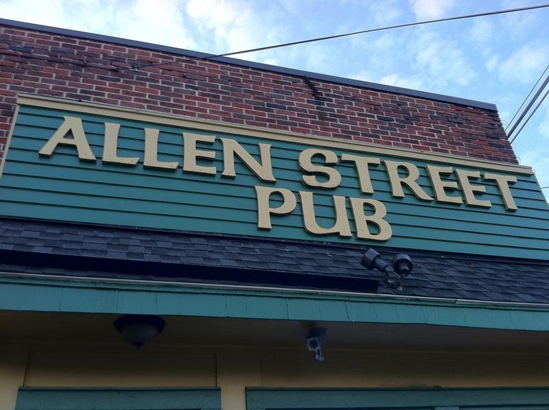 The allen street pub
