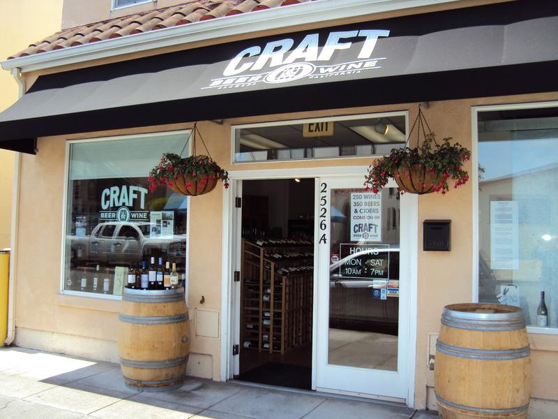 Craft beer wine