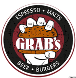 Thumb grab s burger bar