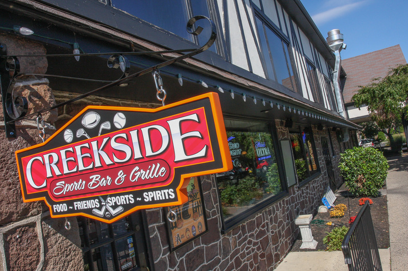 Creekside sports bar grille