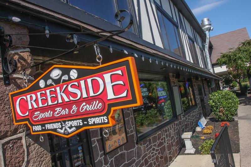 Creekside sports bar grille
