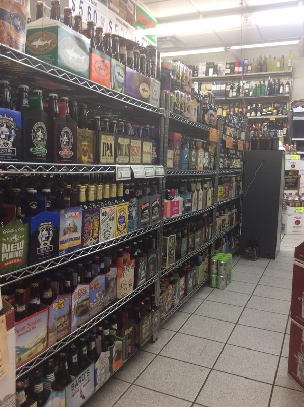 Shores canteen liquor