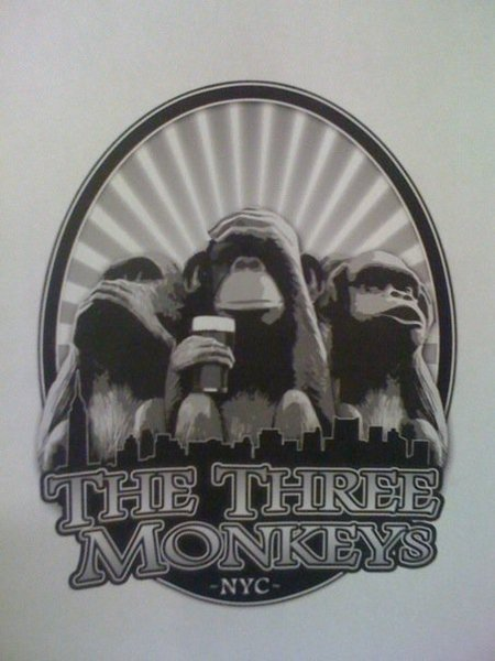 The three monkeys bar