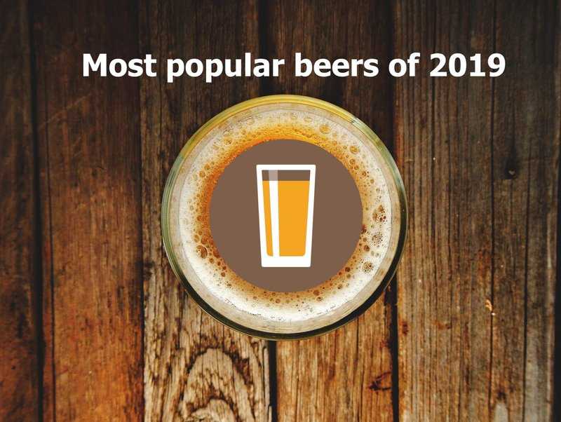 Preview 50 most popular beers of 2019 d52bd6db