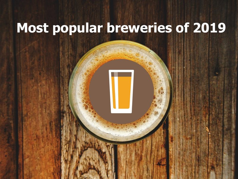 Preview 50 most popular breweries of 2019 7a8af2c0