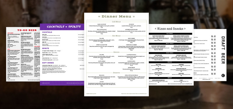 Preview find the right menu template for my restaurant or bar 9cd0bfe0