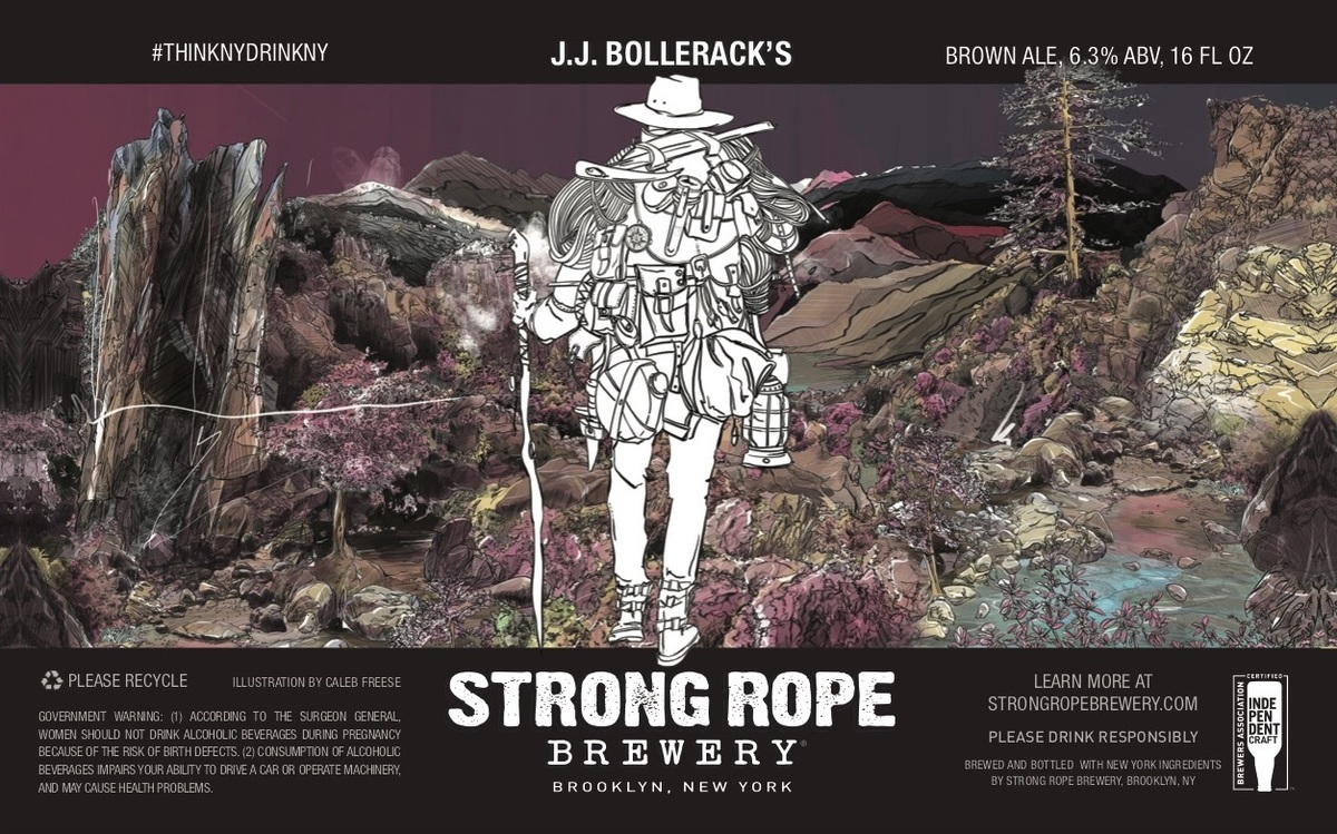 J.J. Bolleracks, 16 oz 4-Pack