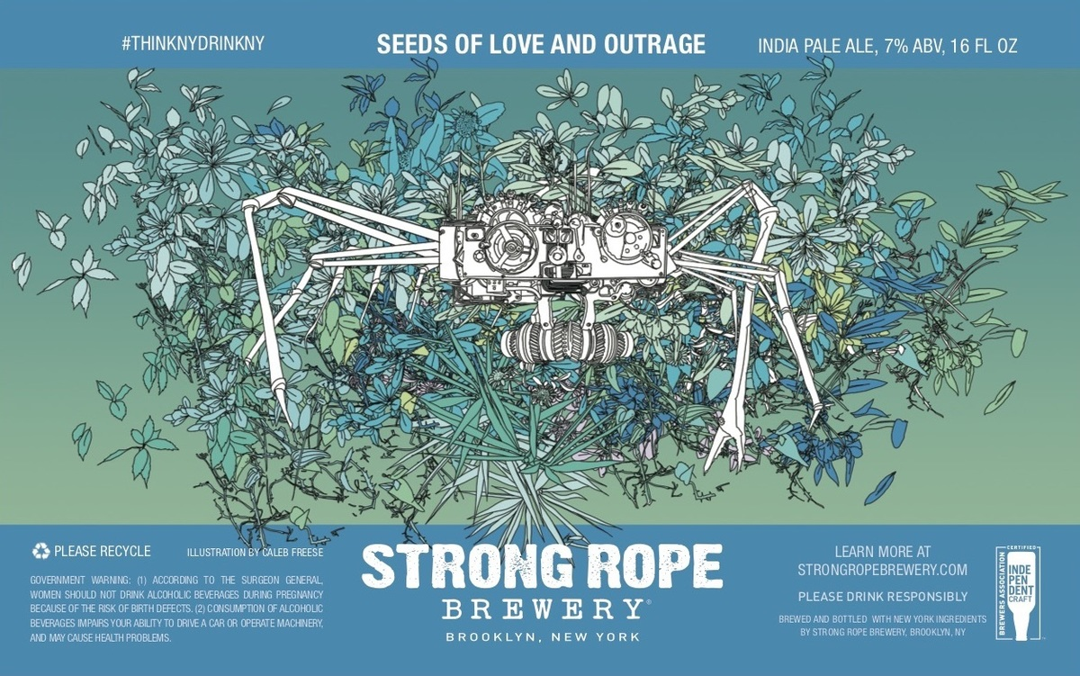 Seeds of Love and Outrage, 16 oz 4-Pack