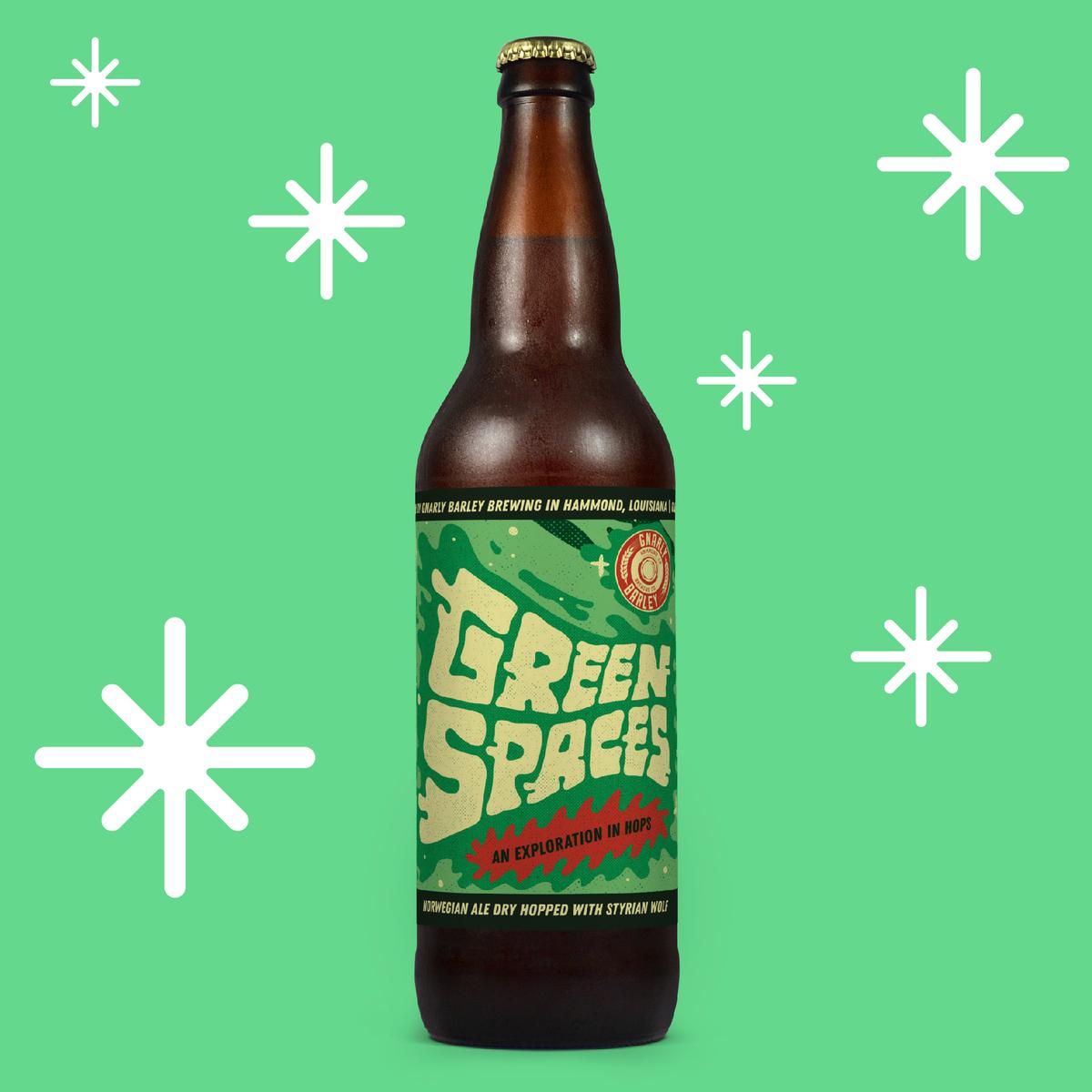 Green Spaces Batch #7, 22oz bottle