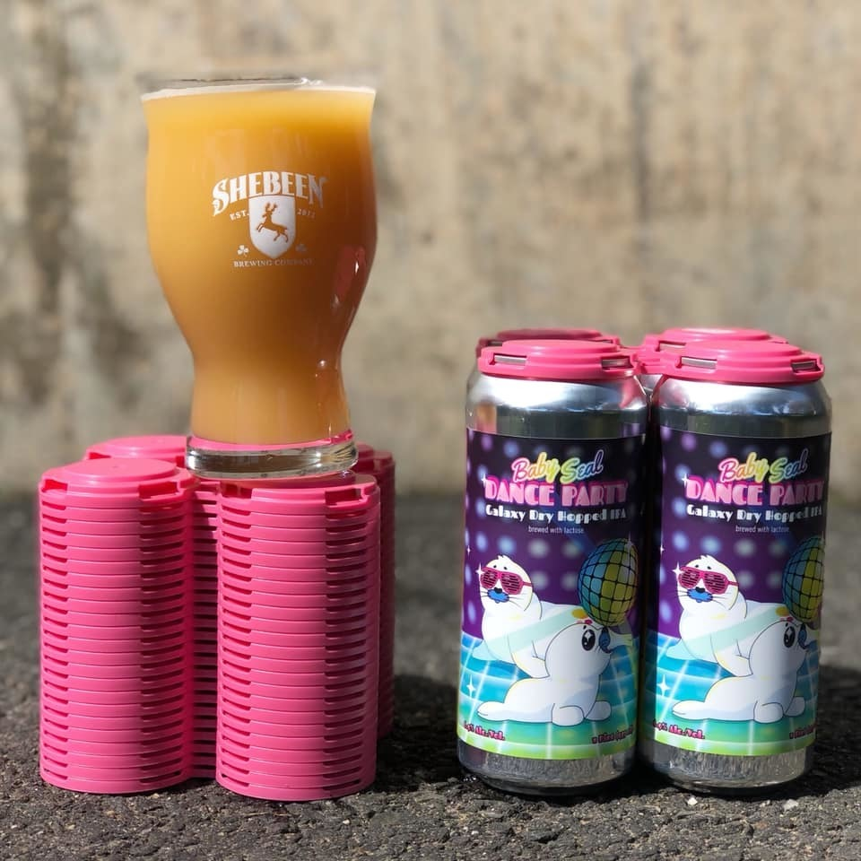 Baby Seal Dance Party NEIPA Variant, 16 oz 4-Pack