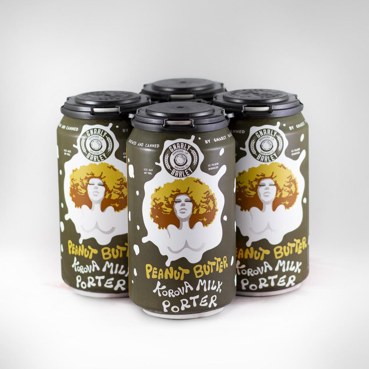 Peanut Butter Korova 4-pack
